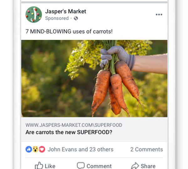 Facebook เพิ่มมาตรการลงโทษ Low Quality Ads