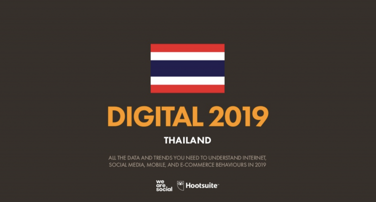 Digital 2019 Thailand (Jan. 2019)