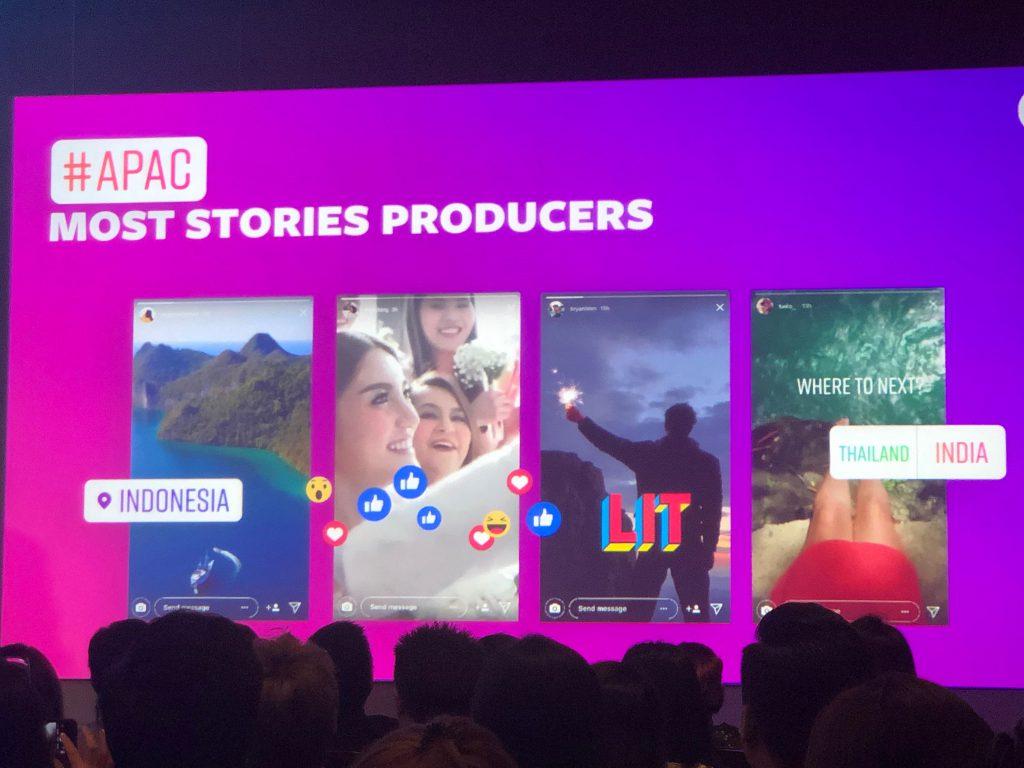 Asia Pacific ผลิต stories มากที่สุด